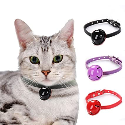 Aolvo 2 Pack Collars for Kitten/Ferret/Rabbit/Cat/Puppy Extra Small