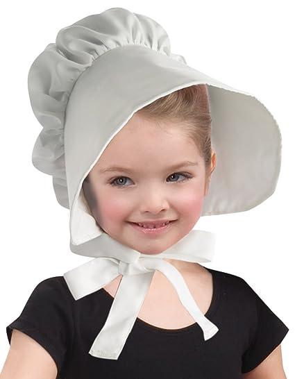 6869e291d927 Amazon.com  Forum Novelties Child Colonial Bonnet Hat