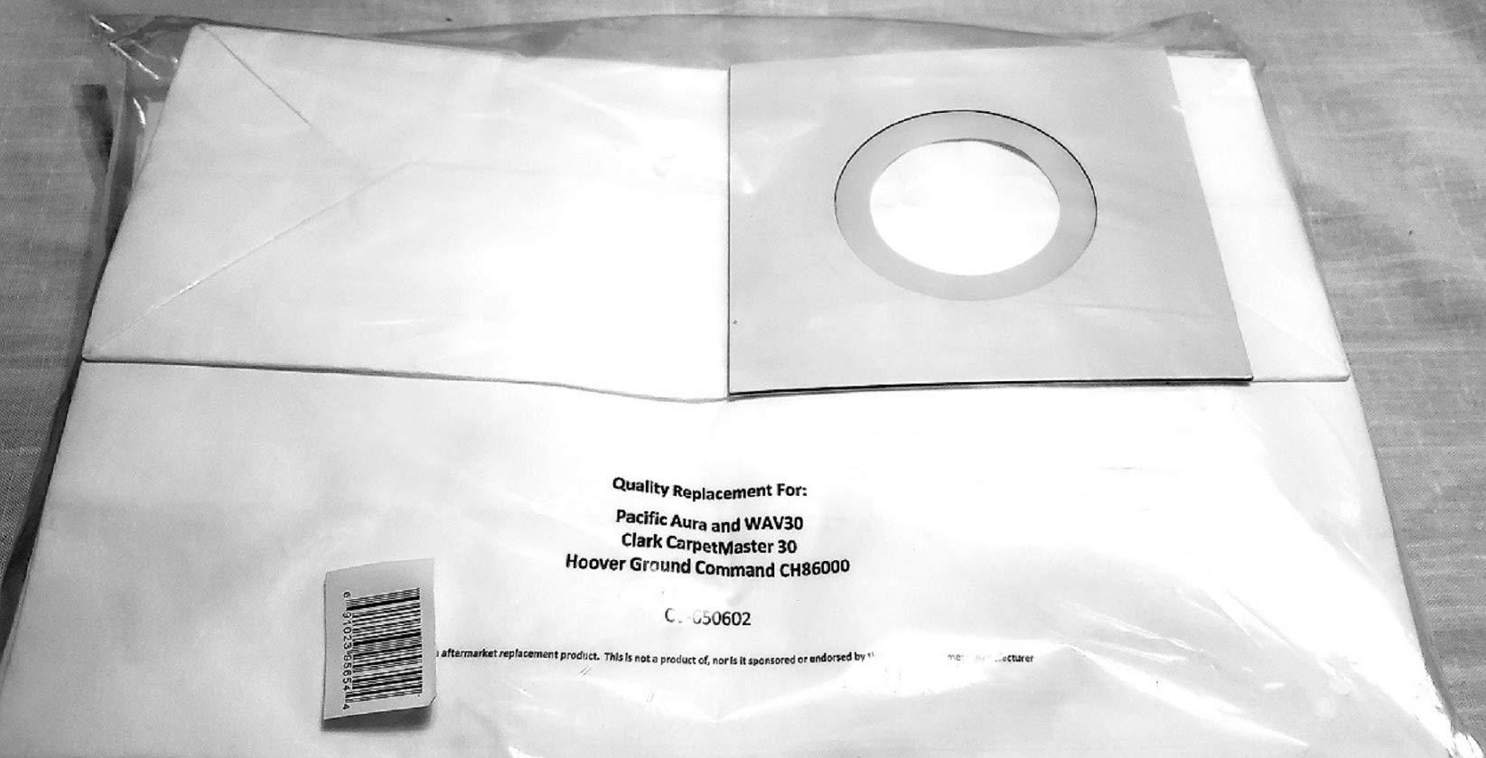 Pacific WAV30 Clarke CarpetMaster 30 Vacuum Bags by Commercial Vacuum