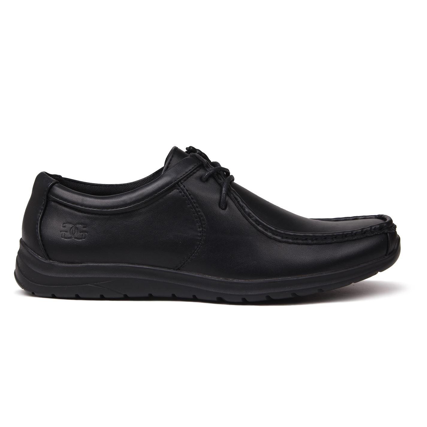 TALLA 45 EU. Giorgio - Zapatos de Cordones de Material Sintético para Hombre