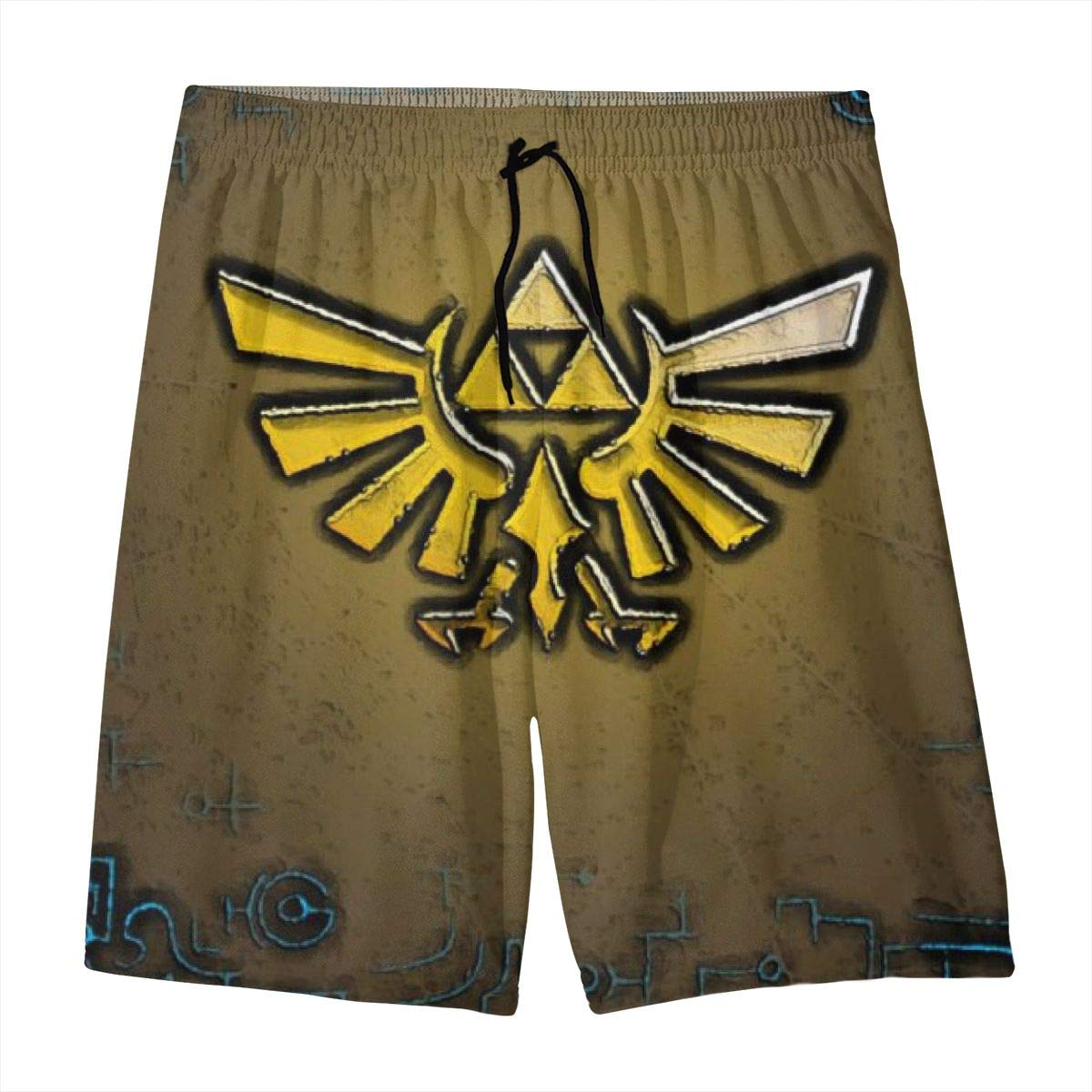 KSFKE Zelda Teens Beach Board Shorts Quick Dry Bathing Suits Swim Trunks Shorts
