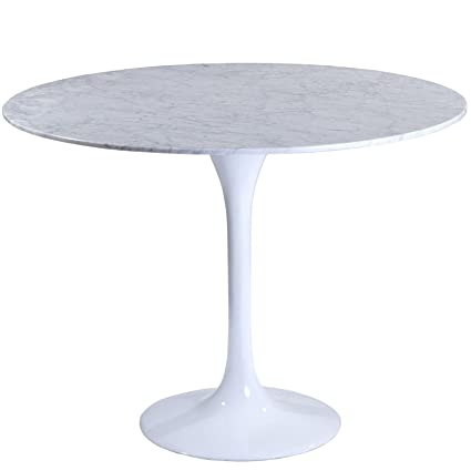 Superbe Modway 36u0026quot; Eero Saarinen Style Tulip Dining Table With White Marble Top