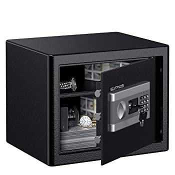 SLYPNOS 1.0 Cubic Feet Electronic Home Safe