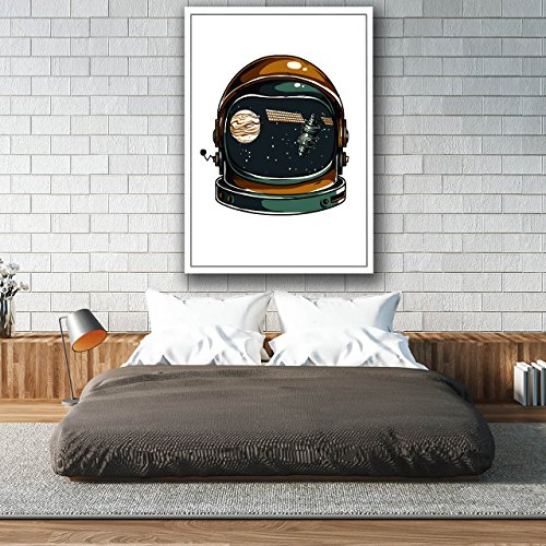 Cosmos Satellite Space Satellite Matte/Glossy Poster A3 (42cm x 30cm) | Wellcoda