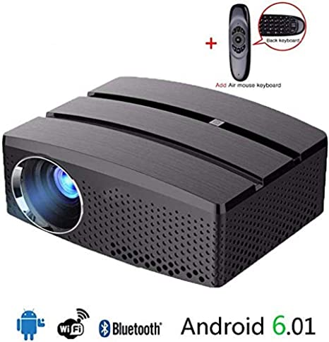 Mini proyector portátil WiFi y Bluetooth Home Theater Compatible ...