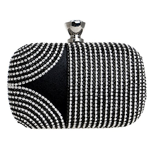 Hand American Color 5 Dinner Evening Square And Rhinestone Women's European 4 Holding Small Dress Bag Bag Ladies nWHRzqxw