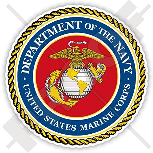 - US MARINE CORPS Seal USMC United States MARINES USA America. American 90mm (3.5