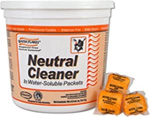 Stearns Water Flakes Neutral Floor Cleaner for in Premeasured Packets (2 Pails per Case; 90 - 0.5 oz. Packets per Pail)