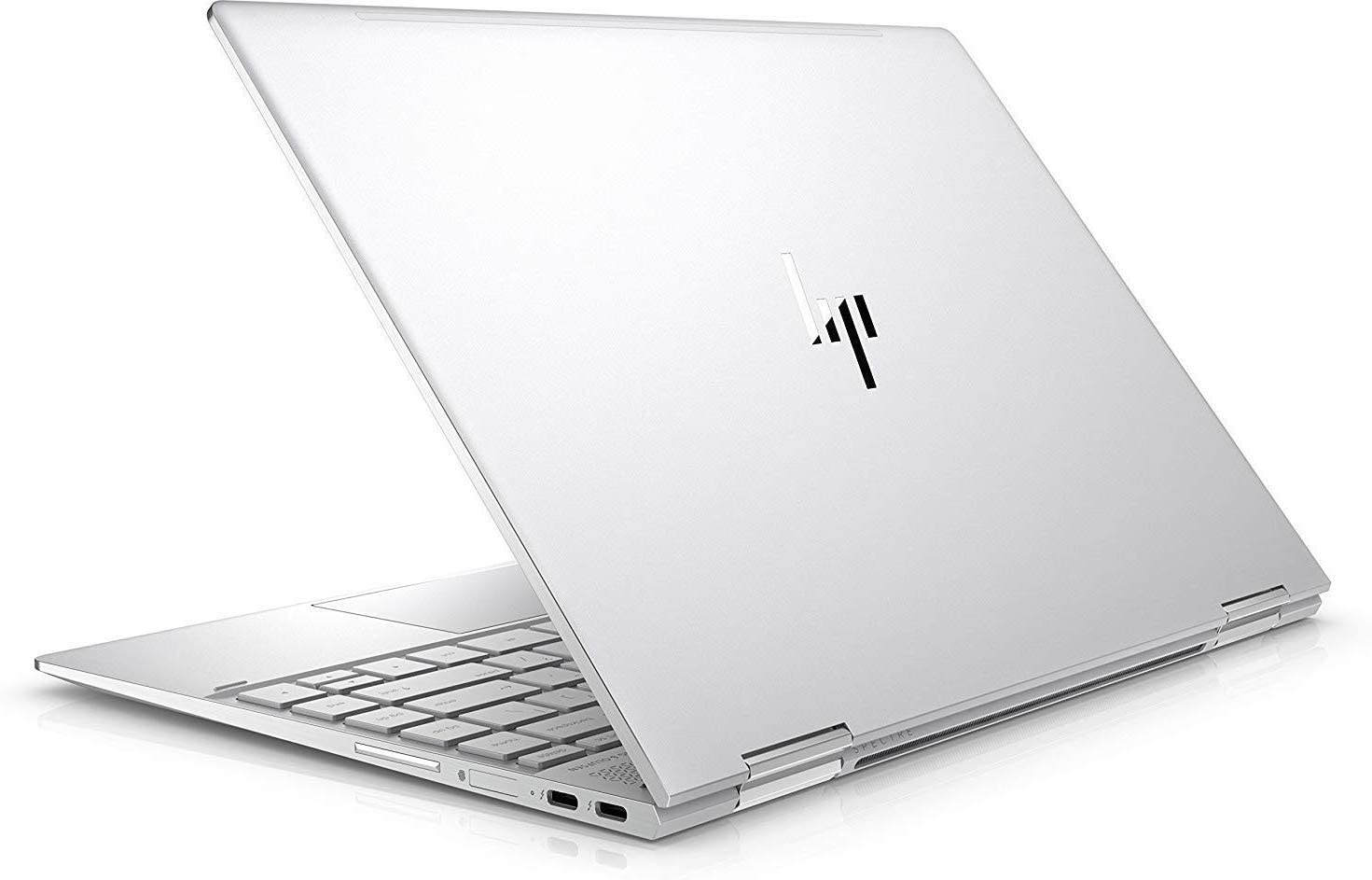 "Newest HP Spectre x360-13t Quad Core(8th Gen Intel i7-8550U, 16GB DDR4, 512GB PCIe NVMe SSD, IPS micro-edge Touchscreen Corning Gorilla, Windows 10 Ink)Bang&Olufsen 13.3"" 2-in-1 Convertible - Dark Ash"