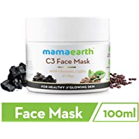 Mamaearth Charcoal, Coffee And Clay Face Mask, 100ml