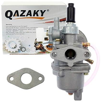 QAZAKY Carburador Carb para 43Cc 47Cc 49Cc Mini Moto Quad ...