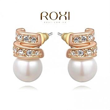 Amazon.com : Prime Leader Delicate Large Zircon Earrings Gift To ...