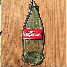 Man Cave Decor - California - Reclaimed Coca-Cola Glass Bottle