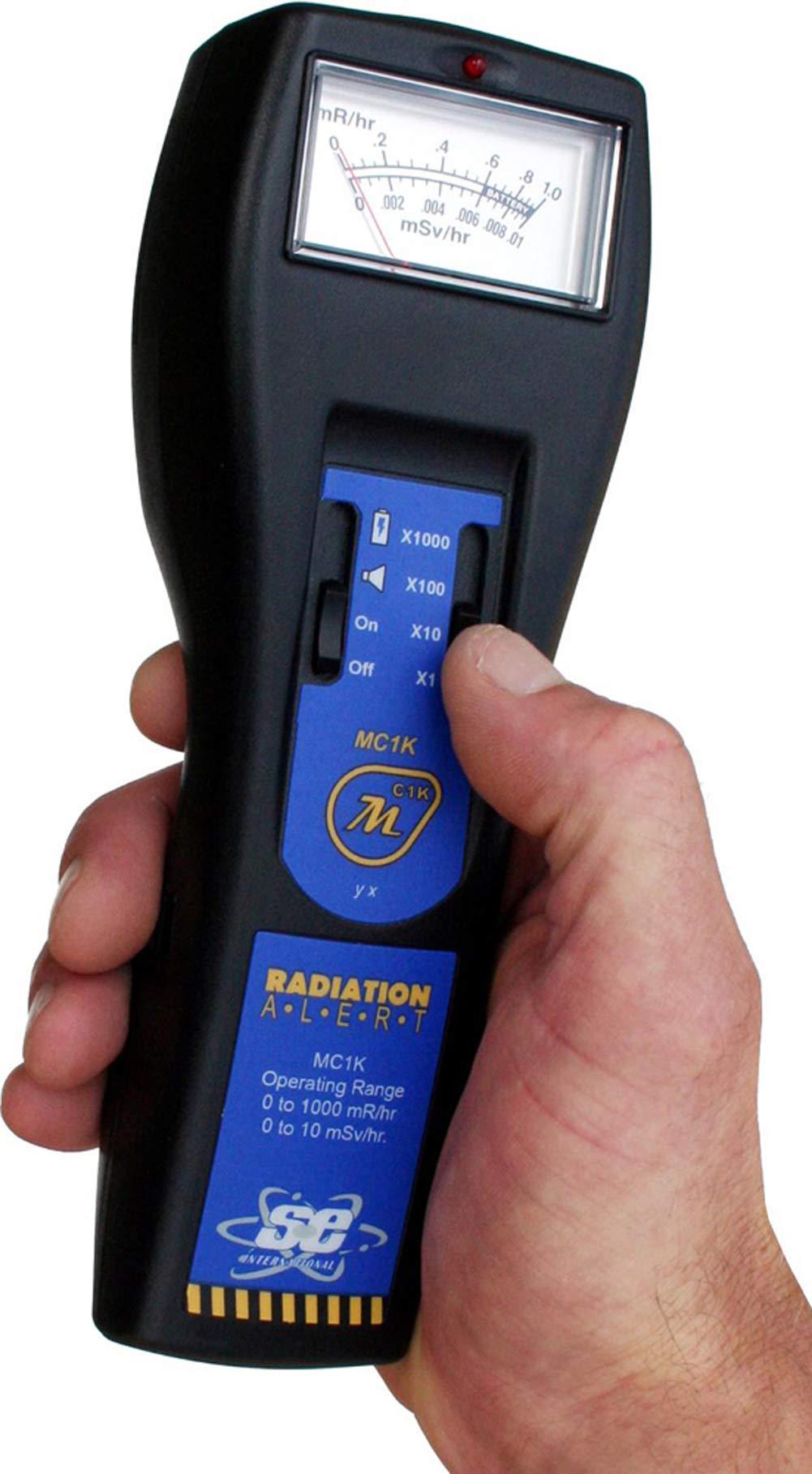 Radiation Alert MC1K High Range Analog-Based Ionizing Radiation Detector