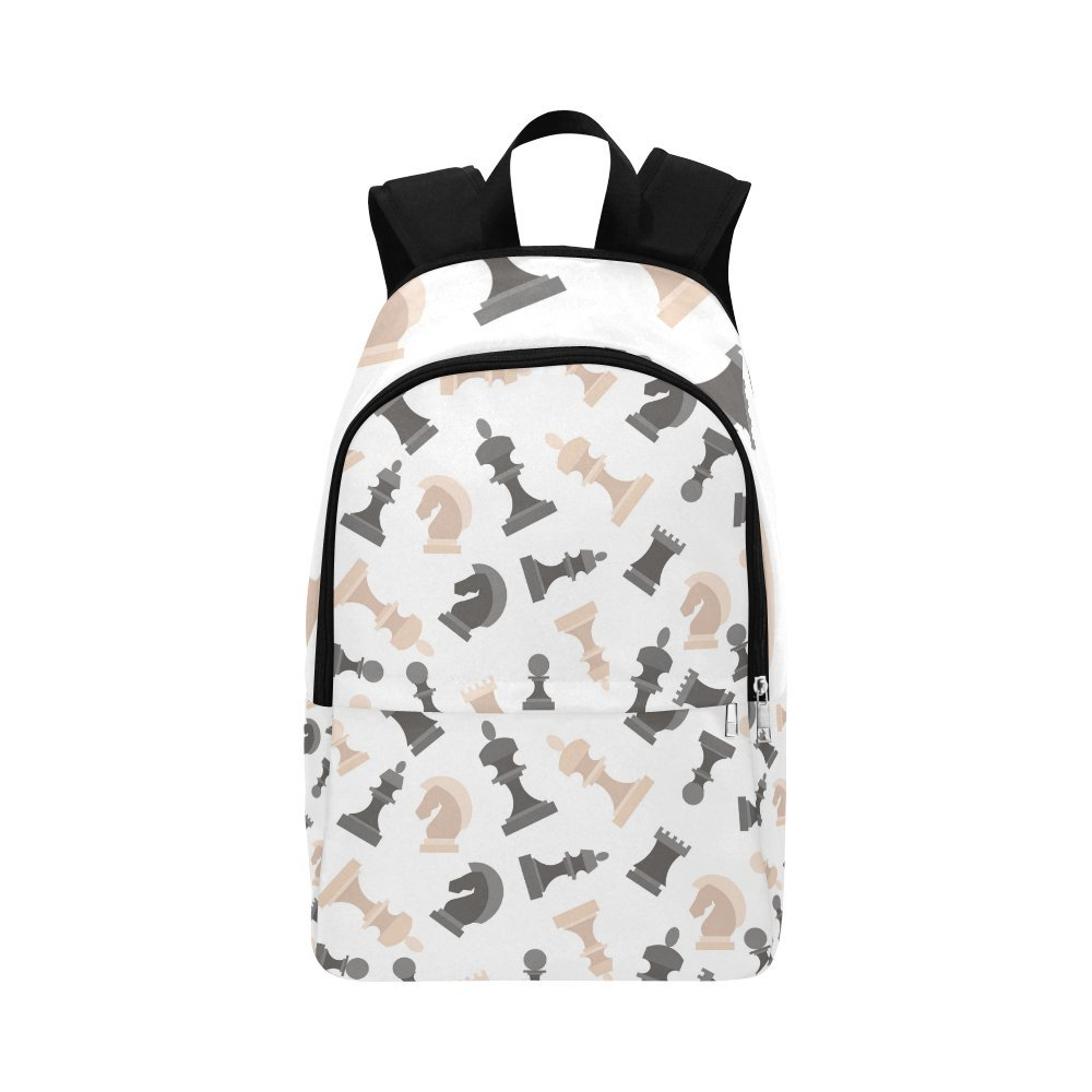 Love Nature Custom Chess Laptop Backpack Adult Casual Back Pack College Travel Backpack Bag Satchel Bookbag for Women and Men
