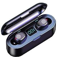 $29 » Wireless Earbuds Bluetooth Headphones .Bluetooth Waterproof in-Ear Earphones with Deep Bass for Business & Sports