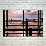 Westlake Art Poster Print Wall Art - Gatwick Airport - Modern Picture Photography Home Decor Office Birthday Gift - Unframed - 24x36in