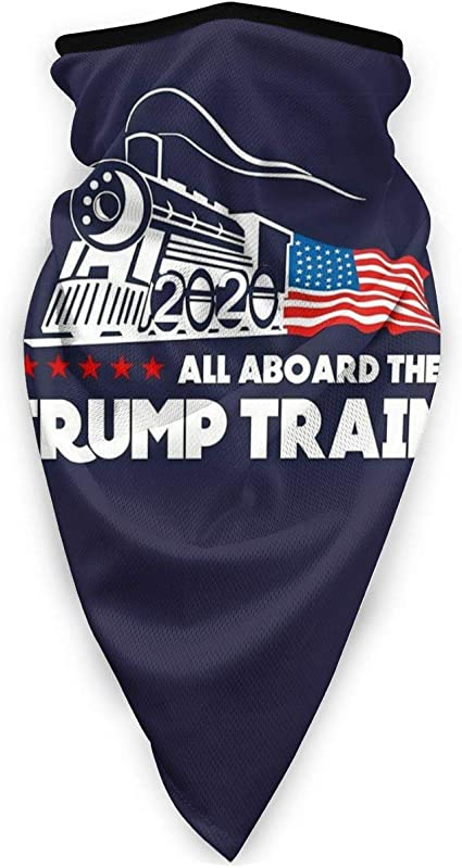 for Dust/'Safely Cool Outdoor Cycling Ski Trump Funny Slogan Bandana Washable Earloop Lightweight