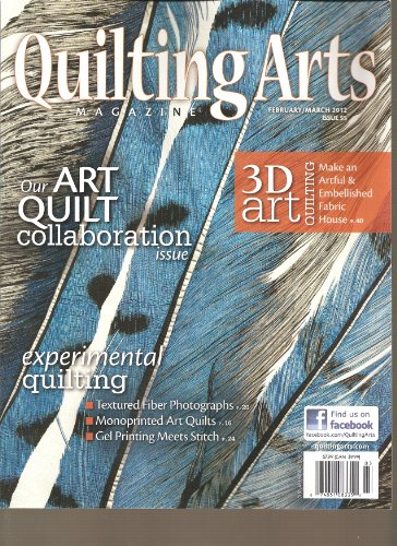 Magazine Arts Quilting Stitch (Quilting Arts Magazine (February March 2012))