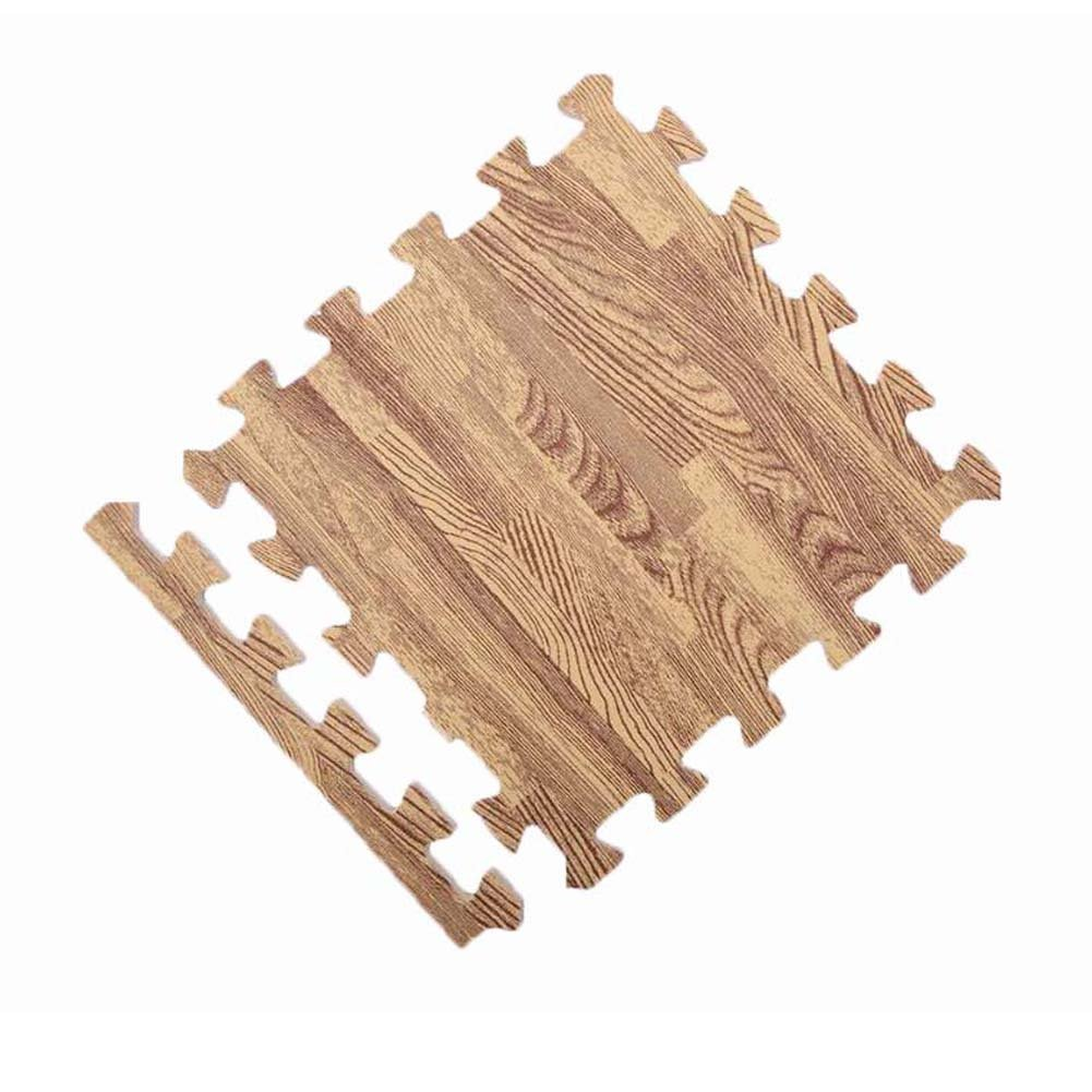 Waterproof wood grain Floor Mat