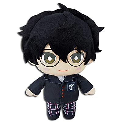 "Great Eastern Entertainment Persona 5- Protagonist Plush 8"" H: Toys & Games"
