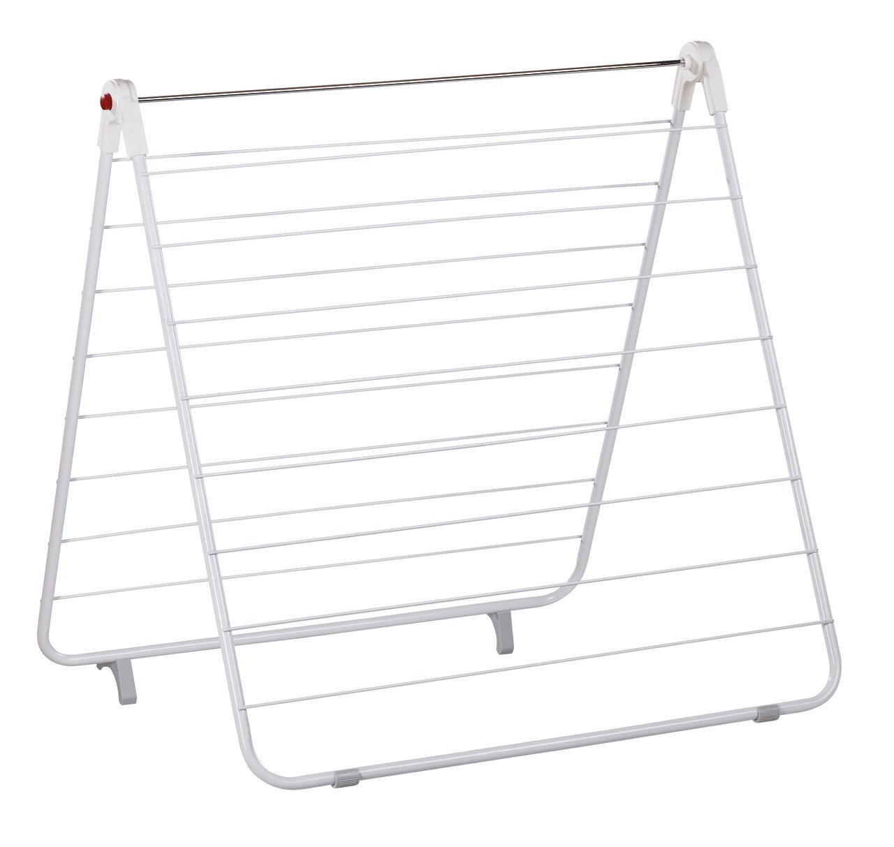 Leifheit Adria 110 Bathtub Dryer - Sturdy high Quality laundry dryer for bathtub Drying length 12.03 yard Three possibilities to use it: laid flat over the bathtub, standing V-shaped on the edge of the bathtub or L-shaped angled over the bathtub - laundry-room, entryway-laundry-room, drying-racks - 61lwVSazIUL -