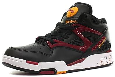 Reebok Classic Pump Omni Lite Unisex Sneakers, Schwarz Rot