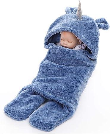 Saco de dormir del bebé Bebé recién nacido Saco de dormir de invierno caliente grueso usable