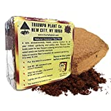 Triumph Plant Coco Coir Bricks - A Natural Additive to Potting Soil for Potted Plants & Gardens- Coconut Coir is a Sustainable Alternative to Peat Moss - Average Brick Size is 10 oz - 10 Bricks