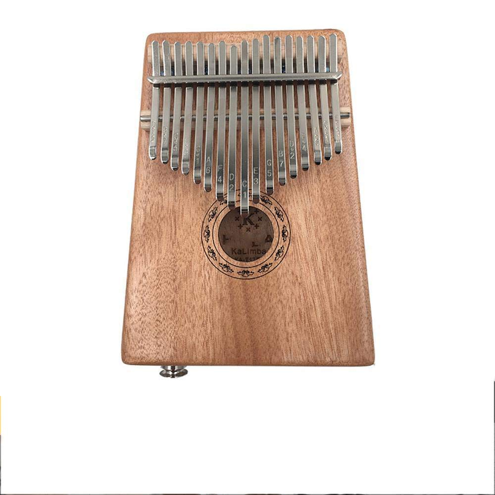 Laogg Kalimba Peach Blossom Wood core Kalimba Easy to Carry Mineral Metal Keys by Laogg