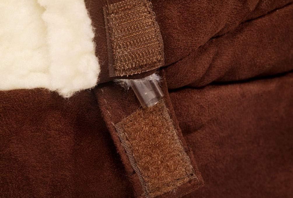 M: 60 * 50 * 32cm, Dark Green Vejaoo Saco de Dormir C/álido Cuevas casa Sleeping Bed Noble Cama para Perros y Gatos Puppy Conejo Mascota XZ001