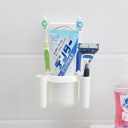 SSBY Sistemas de personalidad Chuck cuelga cepillo de dientes, baño lavar la pasta de dientes