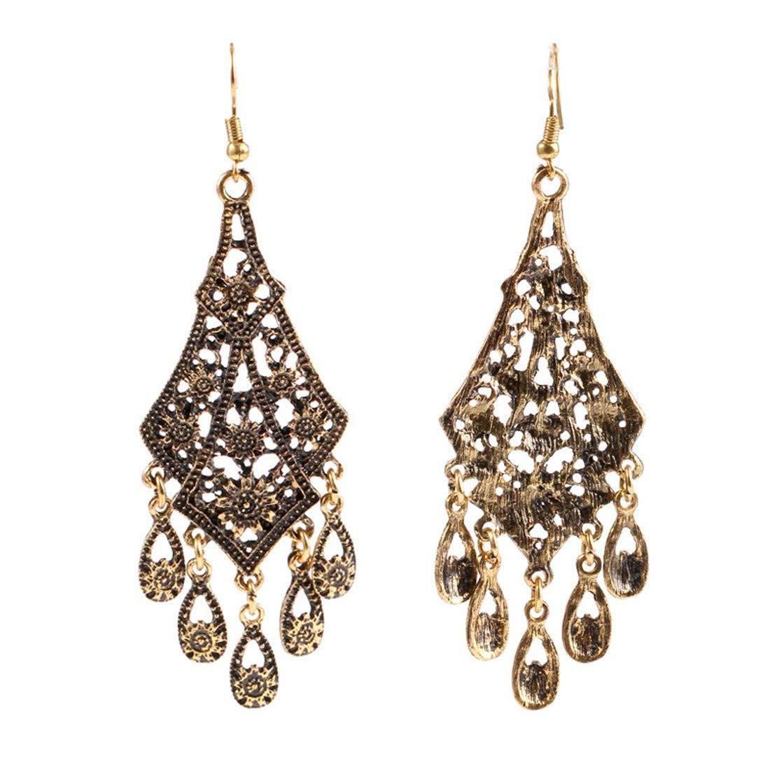 antique folk style earrings long diamond diamond earrings. ball earrings|clip on earrings|ear cuffs|dangle earrings|earring jackets|hoop earrings|stud earrings|Fashion accessories