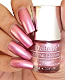 DeBelle Gel Nail Lacquer Chrome Glaze 8 ml -(Metallic Pink Nail Polish)