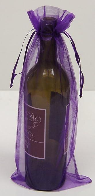 Amazon.com: 6 x 14 bolsas de Sheer – Botella/Vino bolsas de ...