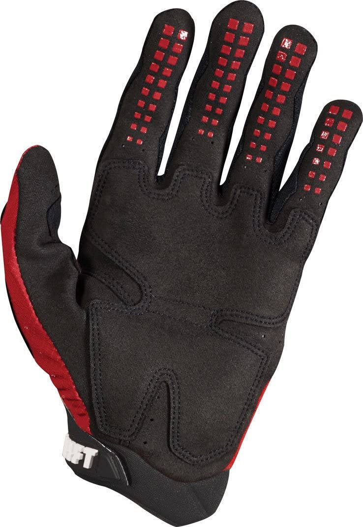 2018 Shift Black Label Pro Gloves-Dark Red-S