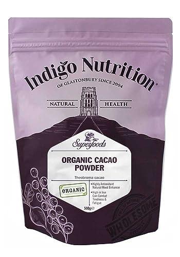 Indigo Herbs Organic Peruvian Cacao Powder 500g