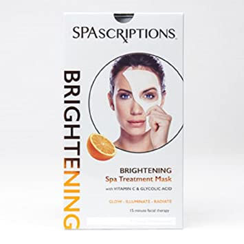 Spa facial with blackhead treatment