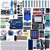 Elegoo UNO R3 Project Complete Starter Kit with Tutorial for Arduino Mega2560 UNO Nano (63 Items)