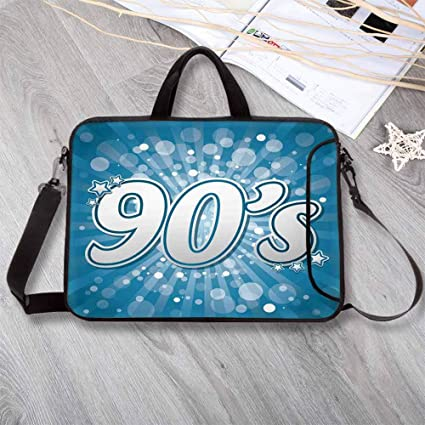 Amazoncom 90s Waterproof Neoprene Laptop Bag90s Letter And Stars