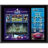 Sports Memorabilia Philadelphia Eagles 12'' x 15'' Super Bowl LII Champions Sublimated Plaque - NFL Team Plaques Collages