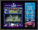 Sports Memorabilia Philadelphia Eagles 12'' x 15'' Super Bowl LII Champions Sublimated Plaque - NFL Team Plaques and Collages
