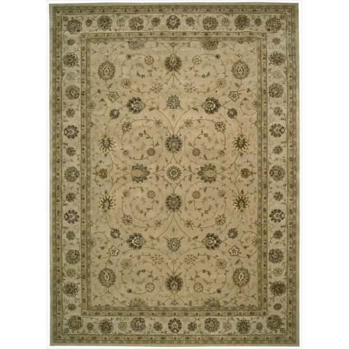 Nourison Nourison 2000 (2071) Camel Rectangle Area Rug, 8-Feet 6-Inches by 11-Feet 6-Inches (8'6