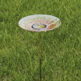 Bold Sunflower Birdbath