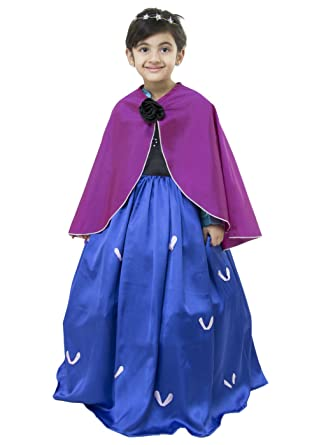 b5d85484f5c00 Samsara Couture Anna Frozen Dress and Anna Frozen Gown for Kids for 1 Year