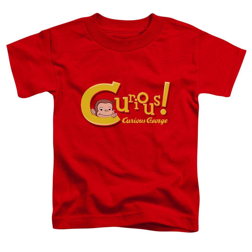 Curious George Curious Toddler T-Shirt