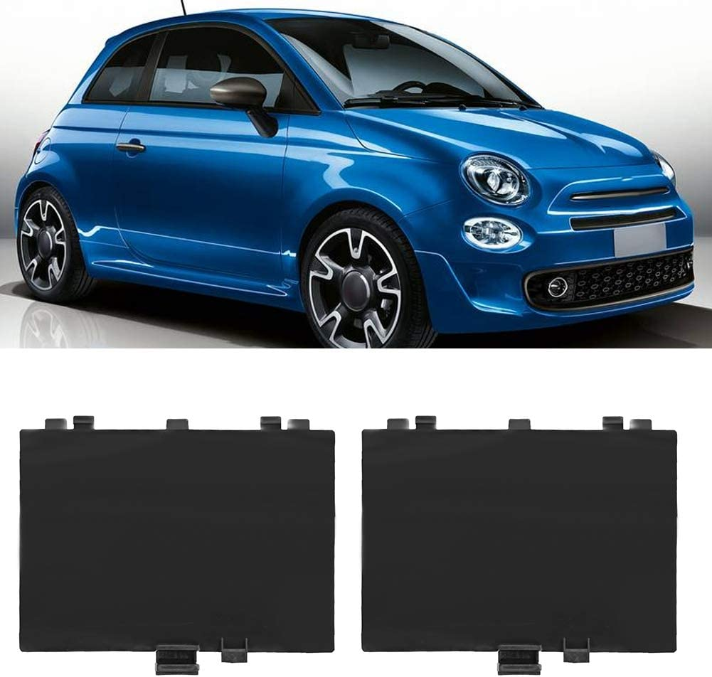 Wheel Arch Liner Cover 1 Pair Wheel Arch Liner Cover Panel Fits for Fiat 500 Left and Right Front Arches 71752114