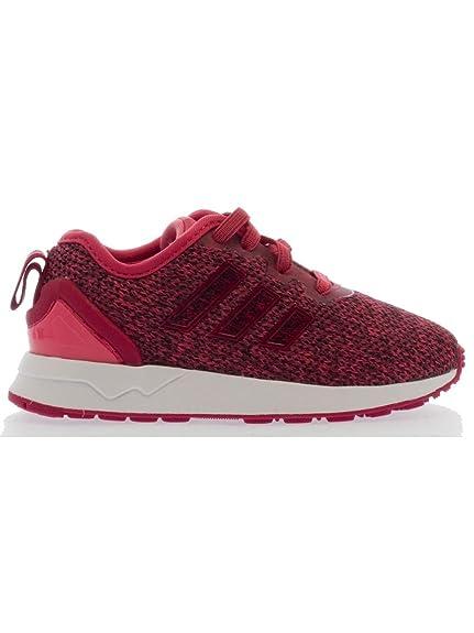 5a6624dfdfb Adidas - Adidas Zx Flux Adv El I Scarpe Sportive Bambina Rosa - Pink ...