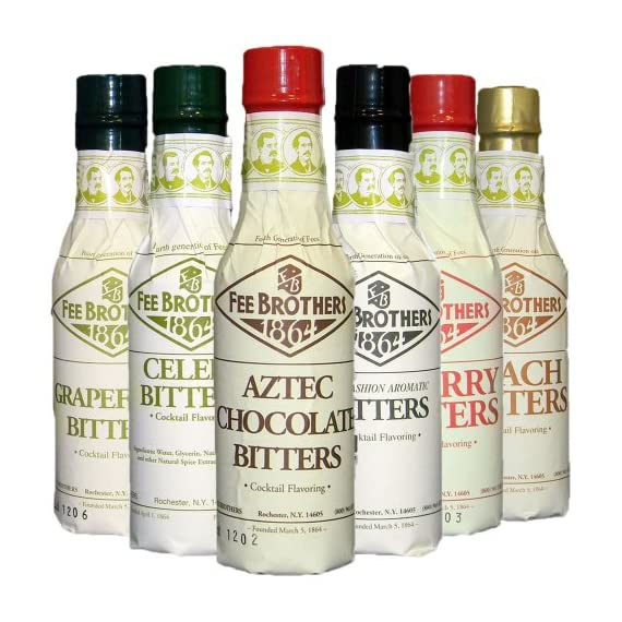 Fee Brothers III Cocktail Bitters 6 Pack 1 Perfect set for fixing all kinds of cocktails! 6, 4 oz. Bottles The best prices are at Pearl Specialty Market