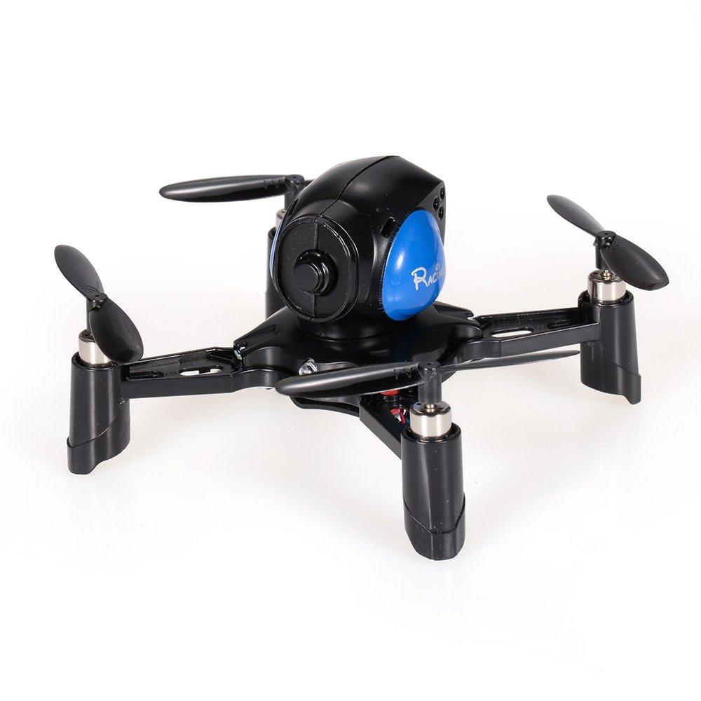 DIY Stem fy605ミニインドアRacing Drone w / 6軸ジャイロ。 – ブルー B07BNW2L6C